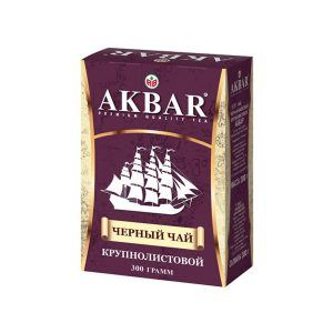 tea akbar black large leaf 200 g