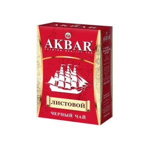 tea black leaf akbar ship 200g red